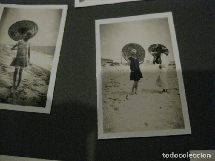 Fotografía antigua: album familiar + 300 fotografias fotos años 20 - 30 felices años 20 cataluña premia de mar precioso - Foto 61 - 194527303