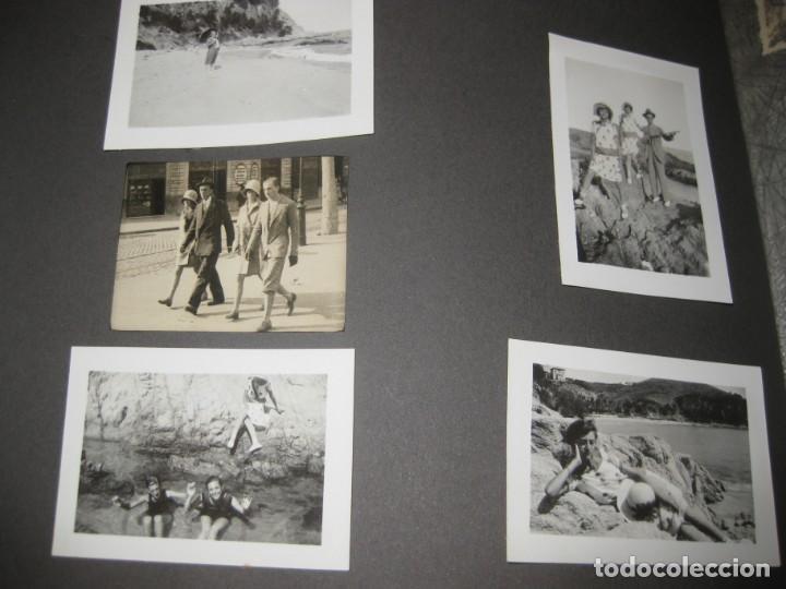 Fotografía antigua: album familiar + 300 fotografias fotos años 20 - 30 felices años 20 cataluña premia de mar precioso - Foto 63 - 194527303