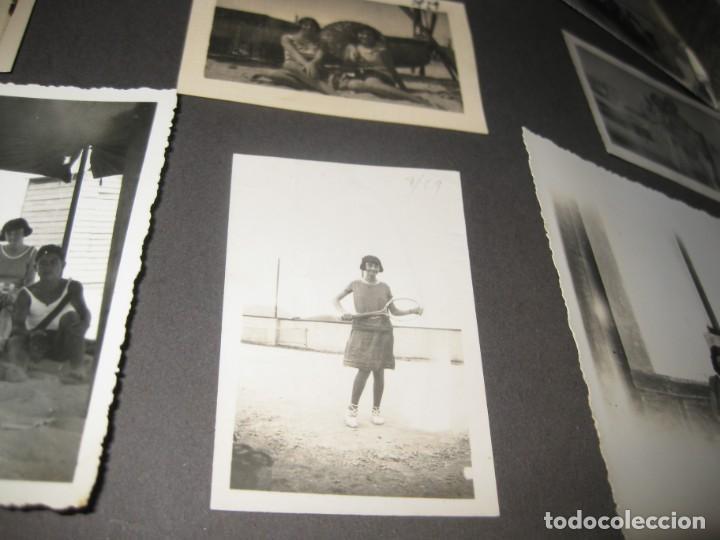 Fotografía antigua: album familiar + 300 fotografias fotos años 20 - 30 felices años 20 cataluña premia de mar precioso - Foto 67 - 194527303