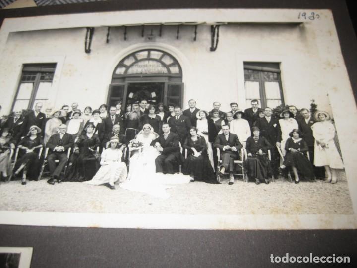 Fotografía antigua: album familiar + 300 fotografias fotos años 20 - 30 felices años 20 cataluña premia de mar precioso - Foto 72 - 194527303