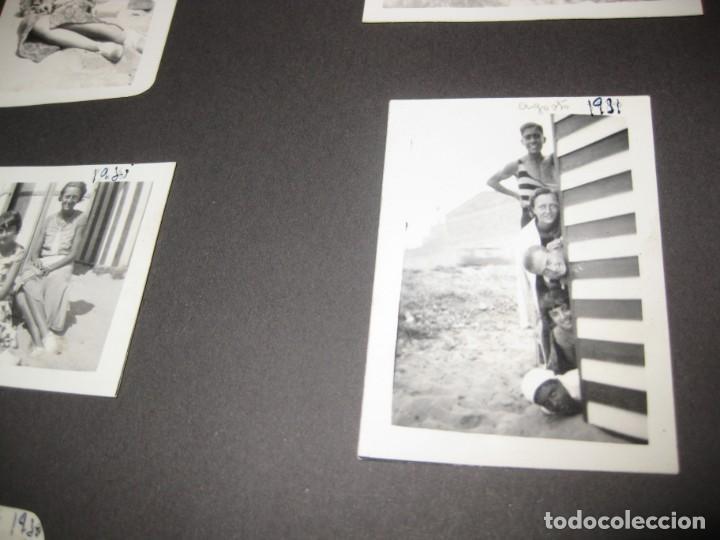 Fotografía antigua: album familiar + 300 fotografias fotos años 20 - 30 felices años 20 cataluña premia de mar precioso - Foto 73 - 194527303