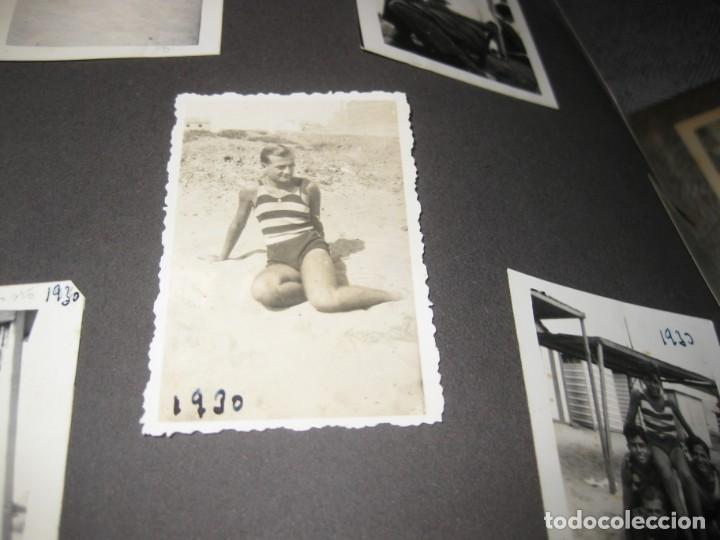 Fotografía antigua: album familiar + 300 fotografias fotos años 20 - 30 felices años 20 cataluña premia de mar precioso - Foto 74 - 194527303