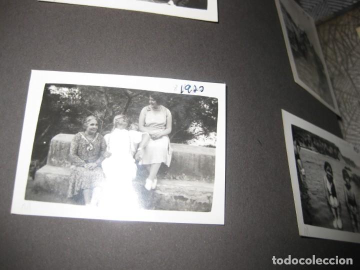 Fotografía antigua: album familiar + 300 fotografias fotos años 20 - 30 felices años 20 cataluña premia de mar precioso - Foto 75 - 194527303