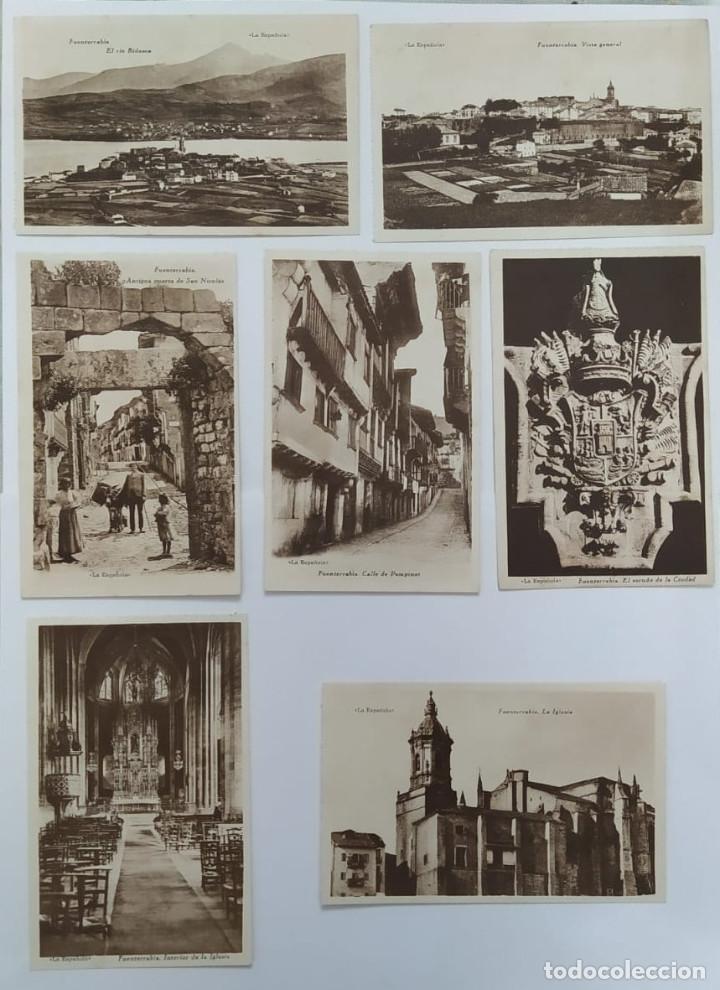 POSTALES DEL PUEBLO FUENTERRABIA (Fotografía Antigua - Tarjeta Postal)