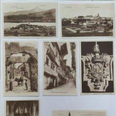 Fotografía antigua: POSTALES DEL PUEBLO FUENTERRABIA. Lote 194531963