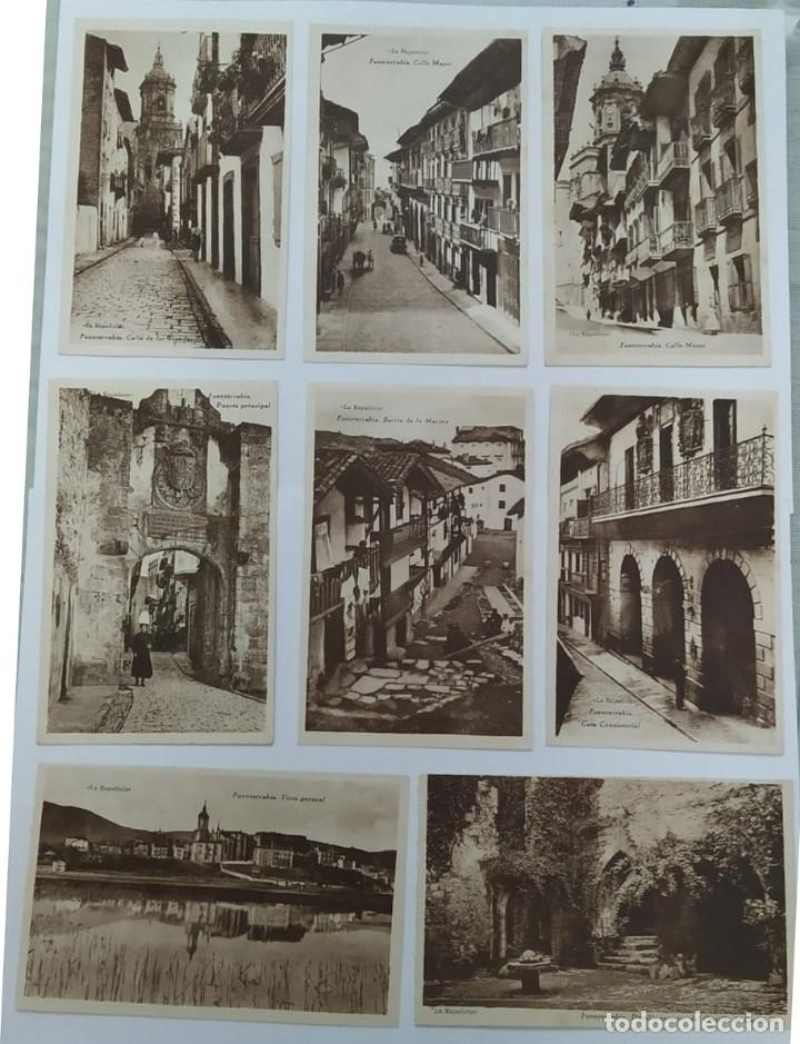Fotografía antigua: POSTALES DEL PUEBLO FUENTERRABIA - Foto 2 - 194531963