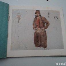 Fotografía antigua: FOTOGRAMA BOCETOS ARABES LIBRITO CON PRUEBAS DE COLOR Y DOS NEGATIVOS. Lote 194560740