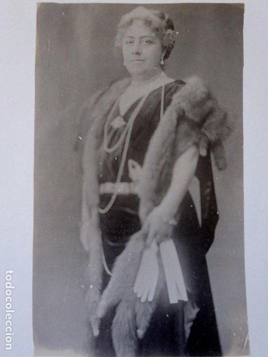 Fotografía antigua: F-4578. REINA VICTORIA DE INGLATERRA. FOTOGRAFIA POSTAL. - Foto 2 - 194626741