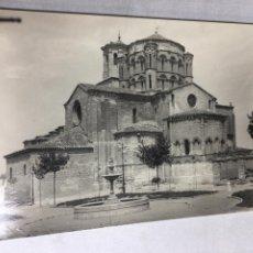Fotografía antigua: ANTIGUA FOTOGRAFIA - TORO - ZAMORA 1965 - LA COLEGIATA - 14X9CM. Lote 194667255