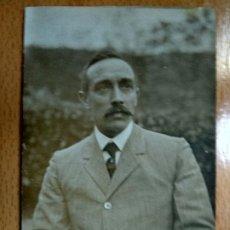 Fotografía antigua: POSTAL FOTOGRAFICA DON JUAN DE OLAZABAL JEFE PARTIDO INTEGRISTA. POLITICA. DE IRUN PAIS VASCO.. Lote 194678732