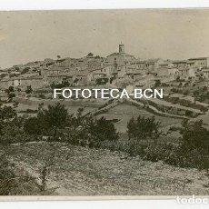 Fotografía antigua: FOTO ORIGINAL VISTA DE PASSANANT CONCA DE BARBERA TARRAGONA AÑOS 20/30. Lote 194701703