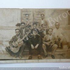 Fotografía antigua: FOTOGRAFÍA ANTIGUA. GRUPO DE AMIGOS. FIESTAS DE LA NAVAL DE 1929. LA ISLETA. LAS PALMAS . Lote 194761426