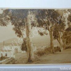 Fotografía antigua: FOTOGRAFÍA ANTIGUA. PARROQUIA DE SAN PEDRO. BREÑA ALTA. ISLA DE LA PALMA. Lote 194764188
