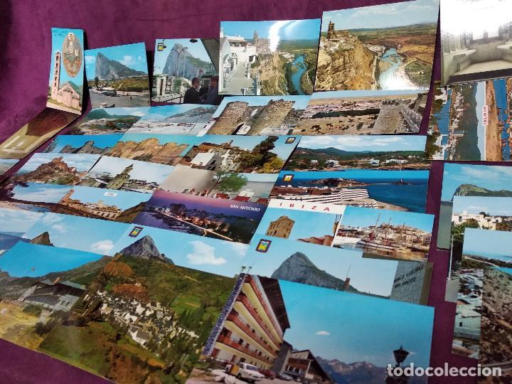 LOTE DE UNAS 41 TARJETAS POSTALES DE ESPAÑA, UNOS 15 X 10 CMS. VINTAGE (Fotografía Antigua - Tarjeta Postal)