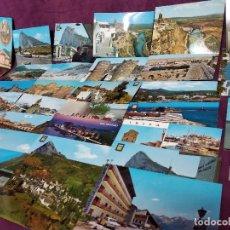 Fotografía antigua: LOTE DE UNAS 41 TARJETAS POSTALES DE ESPAÑA, UNOS 15 X 10 CMS. VINTAGE. Lote 194787613