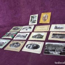 Fotografía antigua: GRAN LOTE DE POSTALES, UNOS 14 LIBRITOS CON POSTALES, ANTIGUAS O VINTAGE, DIFERENTES PAÍSES. Lote 194788690