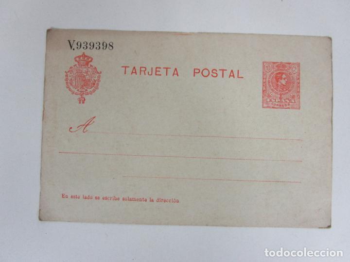 TARJETA POSTAL ALFONSINA - UNIÓN UNIVERSAL DE CORREOS, ESPAÑA - SIN CIRCULAR. (Fotografía Antigua - Tarjeta Postal)