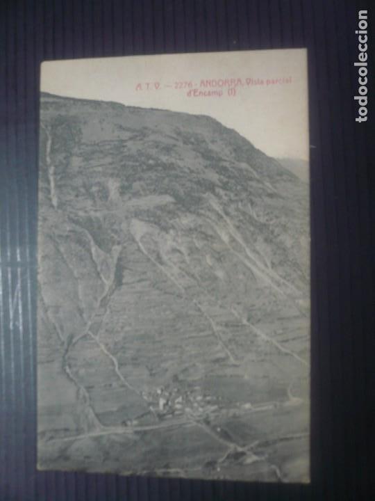 ANDORRA-VISTA PARCIAL D' ENCAMP I I II (Fotografía Antigua - Tarjeta Postal)