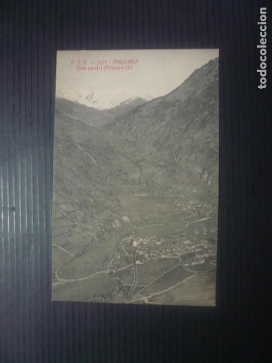 Fotografía antigua: Andorra-Vista parcial d Encamp I i II - Foto 3 - 194872950