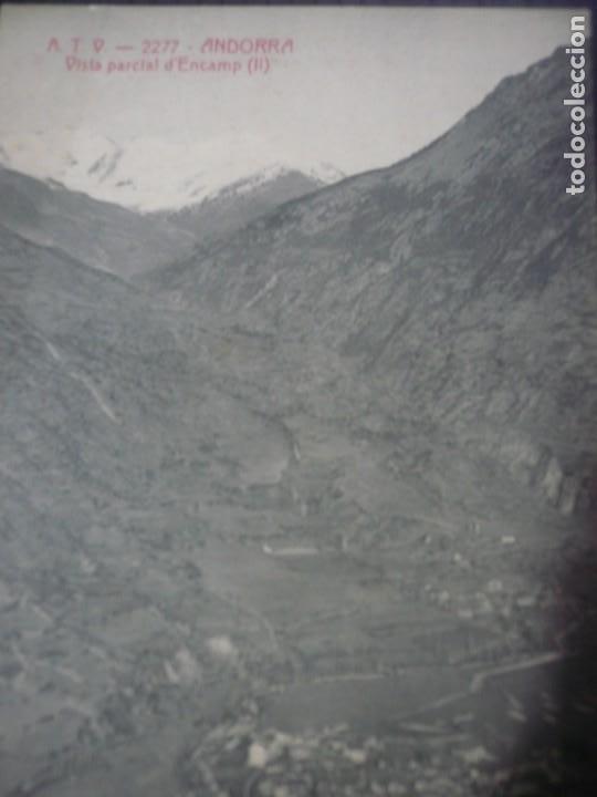 Fotografía antigua: Andorra-Vista parcial d Encamp I i II - Foto 4 - 194872950