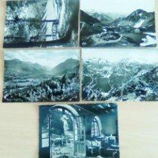 Fotografía antigua: 5 FOTO POSTALES DE MONTES, FOTO POSTAL, SON LAS 5 - SELLADAS Y RESELLADAS. Lote 194914700