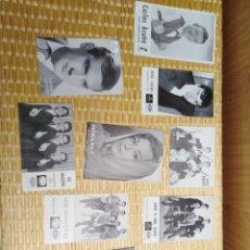Fotografía antigua: LOTE FOTO POSTALES . Lote 194974496
