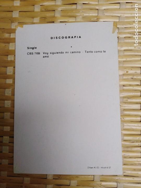 Fotografía antigua: Foto postal firmada Francisco Valladares - Foto 2 - 194975262