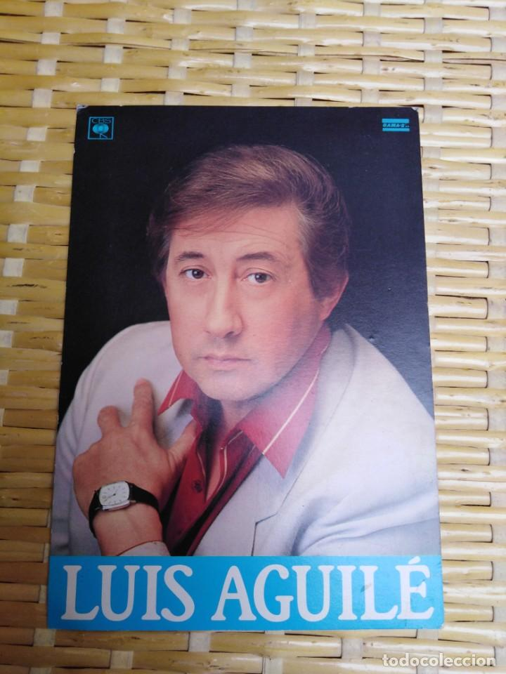 FOTO POSTAL FIRMADA LUIS AGUILE (Fotografía Antigua - Tarjeta Postal)