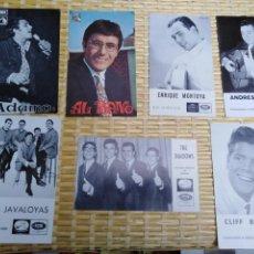 Fotografía antigua: LOTE FOTO POSTALES MUSICA. Lote 194976480