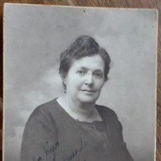 Fotografía antigua: J. BARRERA, SEVILLA 14/12/1924 DEDICADA. Lote 195030617
