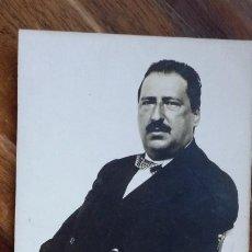 Fotografía antigua: FOTO DE ESTUDIO DE SEÑOR 14 C X 9 CM. Lote 195033585