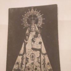 Fotografía antigua: TARJETA POSTAL VIRGEN CON NIÑO. DEDICADA.. Lote 195053672