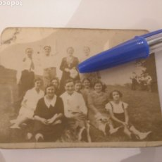 Fotografía antigua: FOTOGRAFÍA GRUPO EN JORNADA DE CAMPO. PILARINA VEGA, ASTURIAS. Lote 195054787