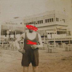 Fotografía antigua: ANTIGUA FOTO FOTOGRAFIA RESTAURANTE MIRAMAR GRAU , EL GRAO DE VALENCIA (20). Lote 195054985