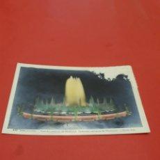 Fotografía antigua: BARCELONA.FUENTE LUMINOSA.. Lote 195136643