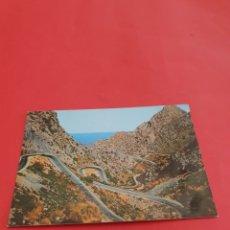 Fotografía antigua: MALLORCA.CARRETERA DE LA CALOBRA.. Lote 195189161