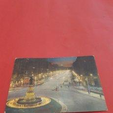 Fotografía antigua: ZARAGOZA.PASEO DE LA INDEPENDENCIA.CIRCULADA.. Lote 195189268