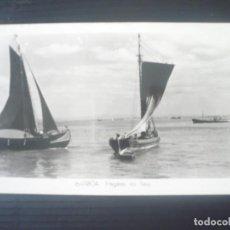 Fotografía antigua: LISBOA-FRAGATAS NO TEJO. Lote 195268995
