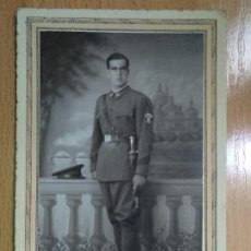 Fotografía antigua: FOTOGRAFIA MILITAR. ZARAGOZA. . Lote 195297022