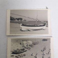 Fotografía antigua: 16 FOTO POSTALES DE LA COSTA DE GIRONA. Lote 195323265