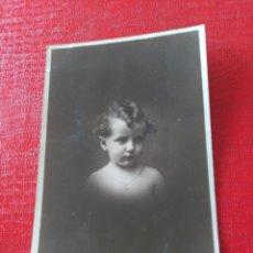 Fotografía antigua: NIÑO. Lote 195403687