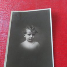 Fotografía antigua: NIÑO. Lote 195403841