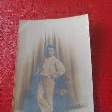 Fotografía antigua: NIÑO. CELEDONIO P. LÓPEZ . Lote 195404253