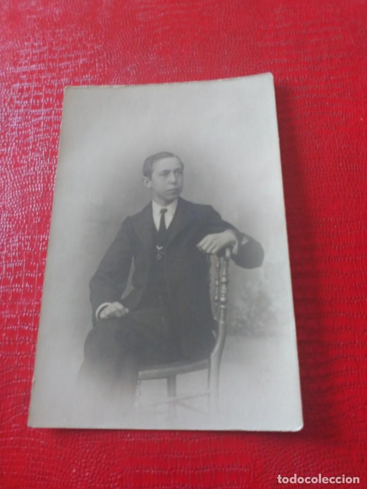 CHICO EN SILLA. EMILIO LÓPEZ (Fotografía Antigua - Tarjeta Postal)