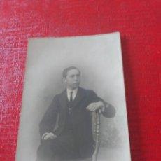 Fotografía antigua: CHICO EN SILLA. EMILIO LÓPEZ. Lote 195404402