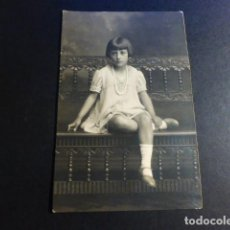 Fotografía antigua: MADRID KAULAK FOTOGRAFO POSTAL FOTOGRAFICA RETRATO DE NIÑA. Lote 195691600