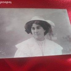 Fotografia antica: CHICA CON SOMBRERO. DARBLADE. Lote 195732460