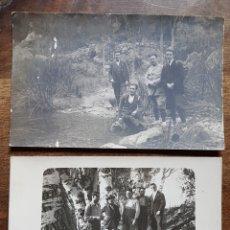 Fotografía antigua: 2 FOTOS EXCURSIONISTAS 1922 Y 23 TARRAGONA. Lote 197895580