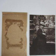 Fotografía antigua: TARJETA POSTAL - FOTOGRAFÍA DEDICADA Y FIRMADA, JOSÉ Mª MARQUES - FOTÓGRAFO NAPOLEÓN - 1914. Lote 198078818