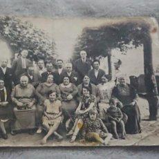 Fotografía antigua: ANTIGUA FOTOGRAFÍA TARJETA POSTAL RETRATÓ FAMILIAR. Lote 198255046